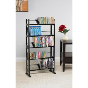 Atlantic Black Media Storage-37935726 - The Home Depot