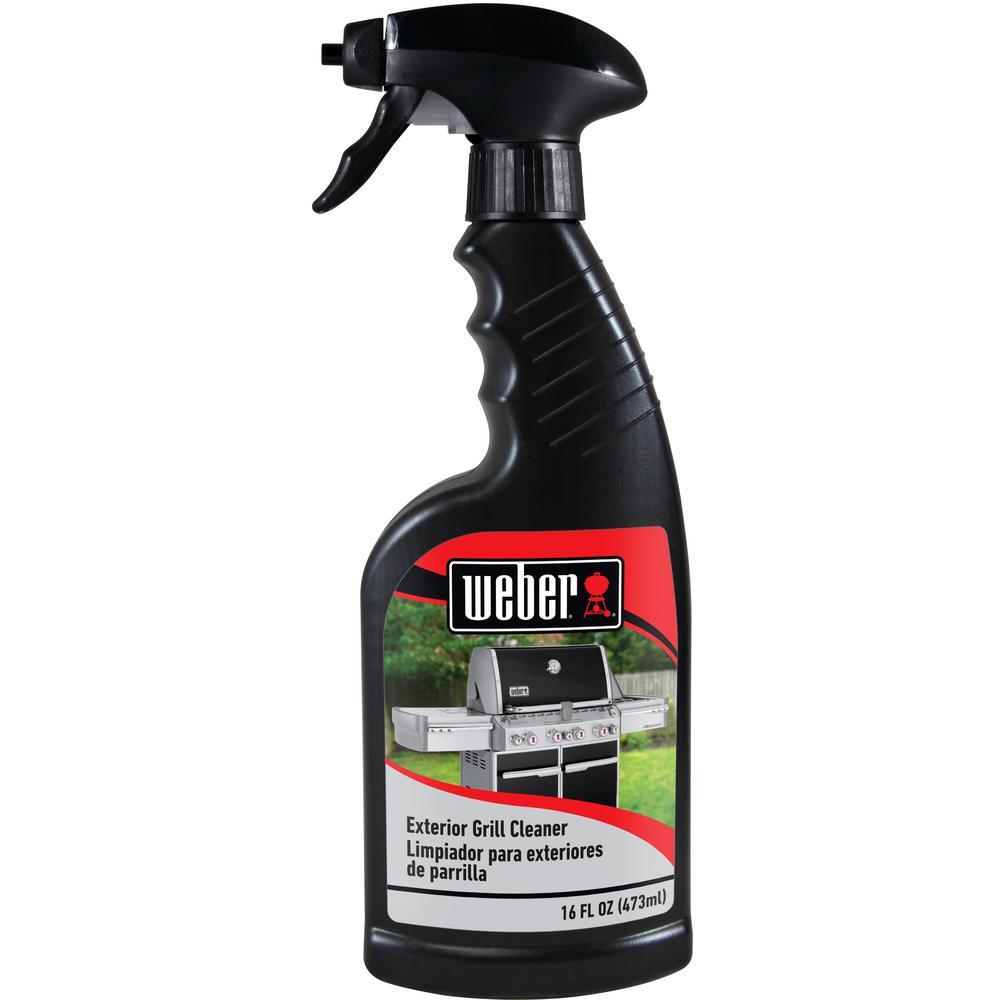 weber 16 oz exterior grill cleaner w65 the home depot. Black Bedroom Furniture Sets. Home Design Ideas