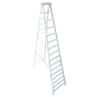 16 ft. Aluminum Step Ladder with 300 lb. Load Capacity Type IA