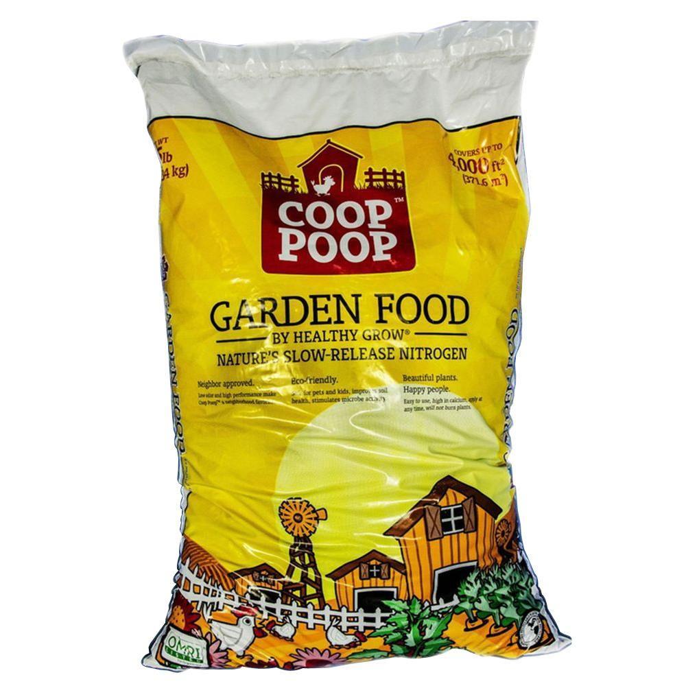 Coop Poop Healthy Grow 25 lb. Lawn and Garden Food