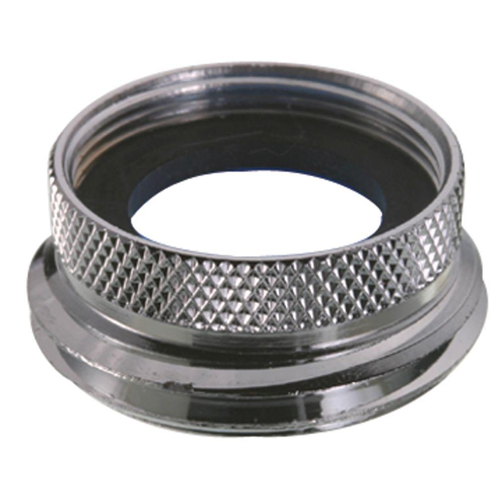 Solid Br Female X Male Hose Adapter