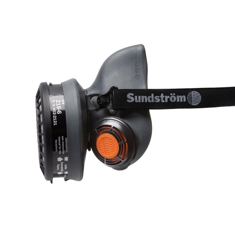 Sundstrom Safety Thermo Plastic Elastomer Half Mask Respirator