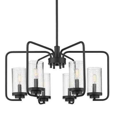Holden 6-Light Black Chandelier