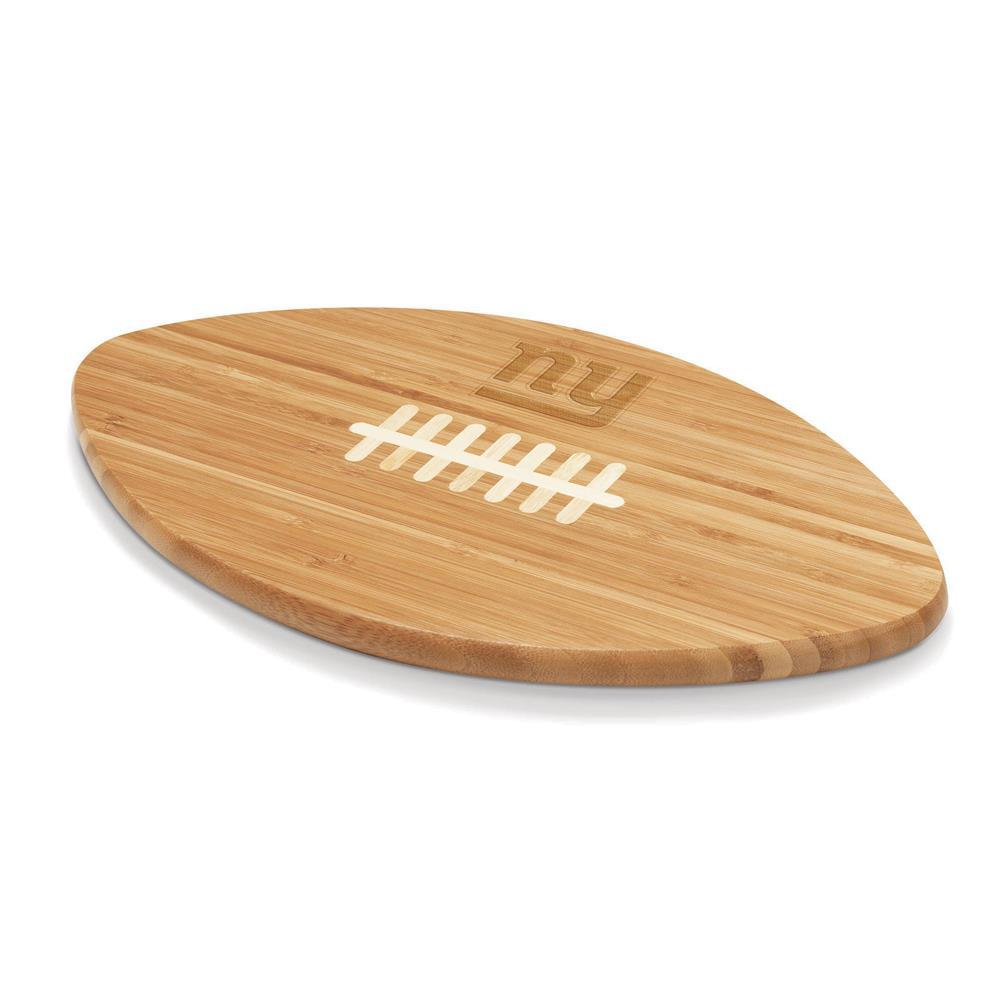 New York Giants Touchdown Pro Bamboo Cutting Board