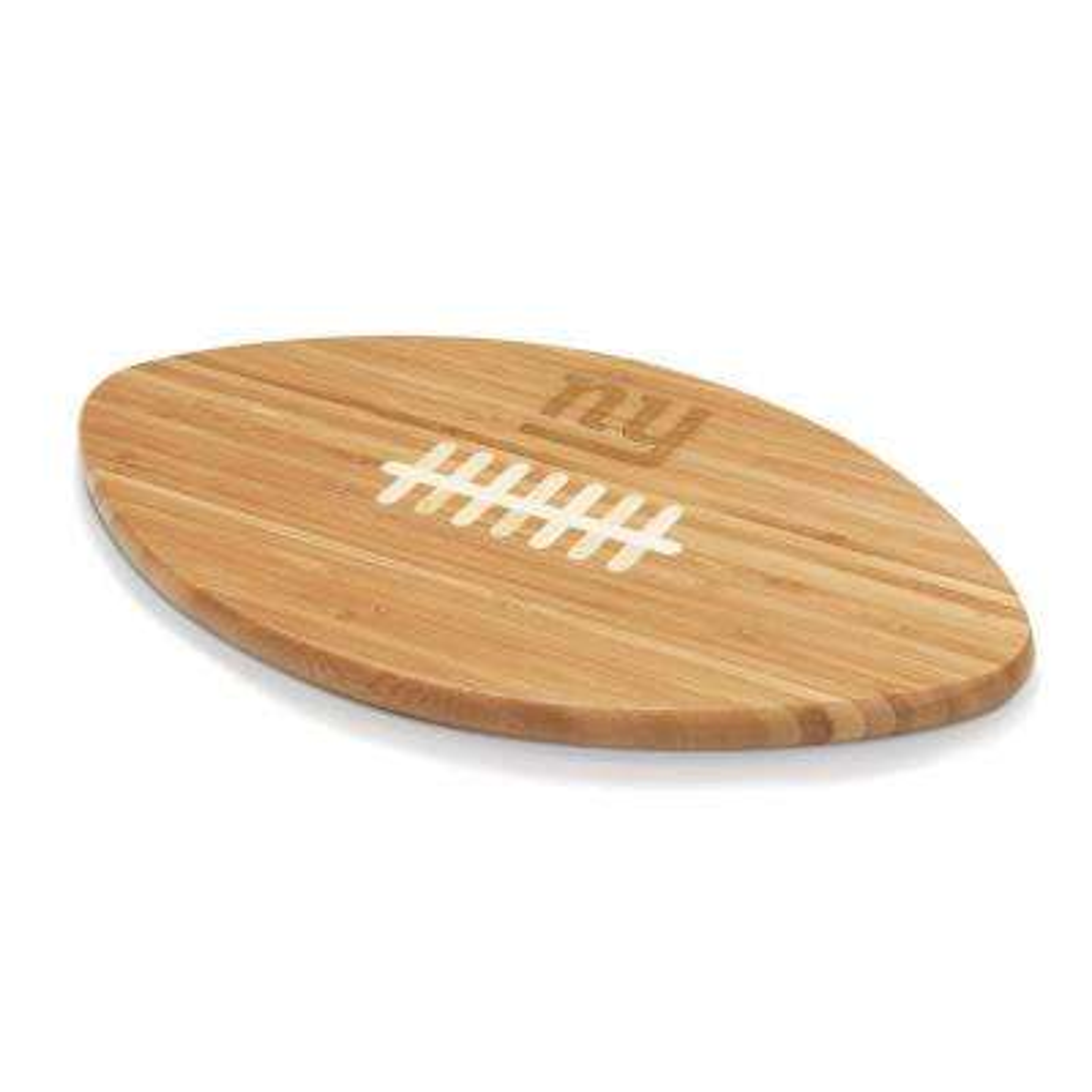 New York Giants Touchdown Pro Bamboo Cutting Board