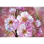 Blooming Gems Wall Mural