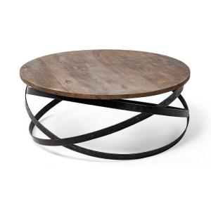 Deals on Mercana Triumph Brown Coffee Table