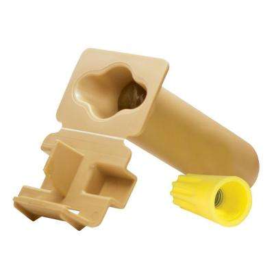 GTSR (Direct Bury Grease Tube with Strain Relief) with Yellow Nut Wire Connector (25-Pack per Bag)