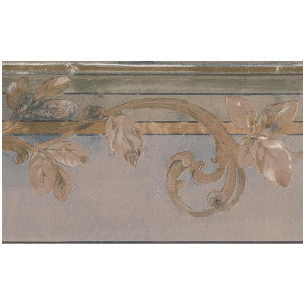 Norwall Decorative Vines Over Molding Traditional Prepasted