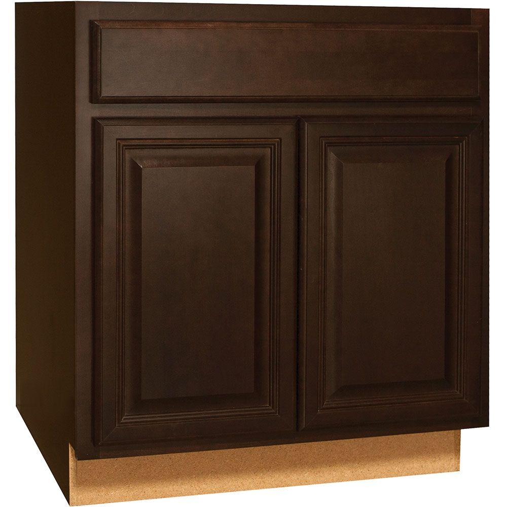 Hampton Bay Kitchen Cabinets Installation Guide: Hampton Bay Cambria Assembled 30x34.5x24 In. Base Kitchen