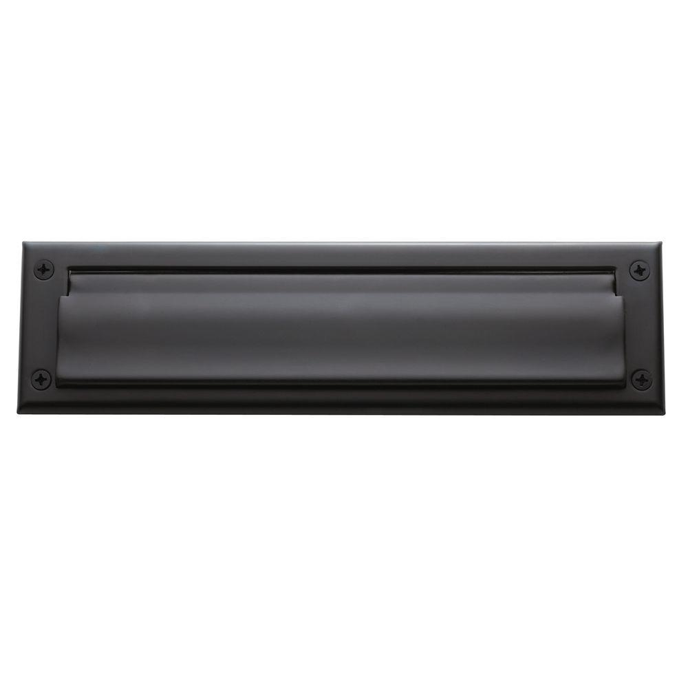 0012 Letter Box Plate, Oil-Rubbed Bronze