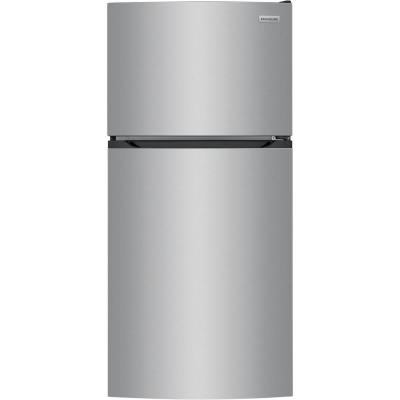 13.9 cu. ft. Top Freezer Refrigerator in Brushed Steel, ENERGY STAR
