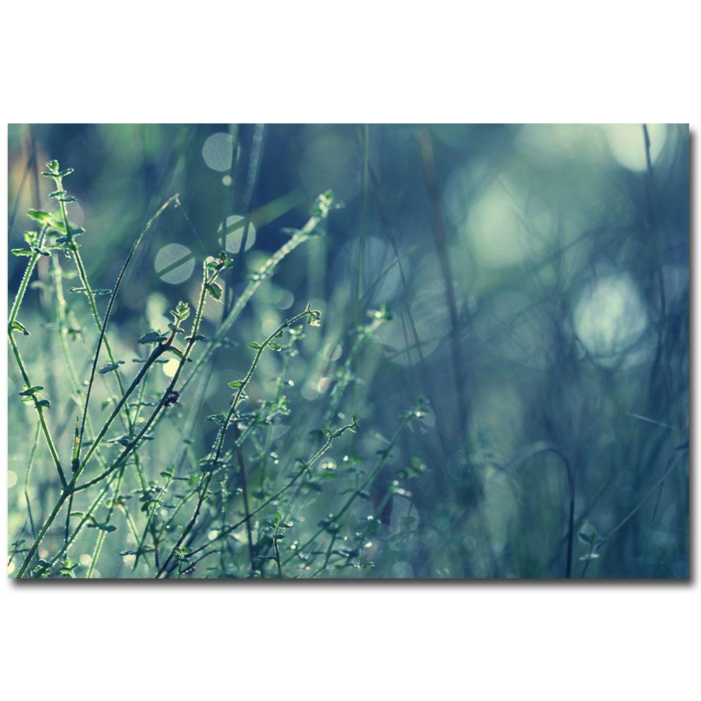 22 in. x 32 in. Blues in the Morning Canvas Art