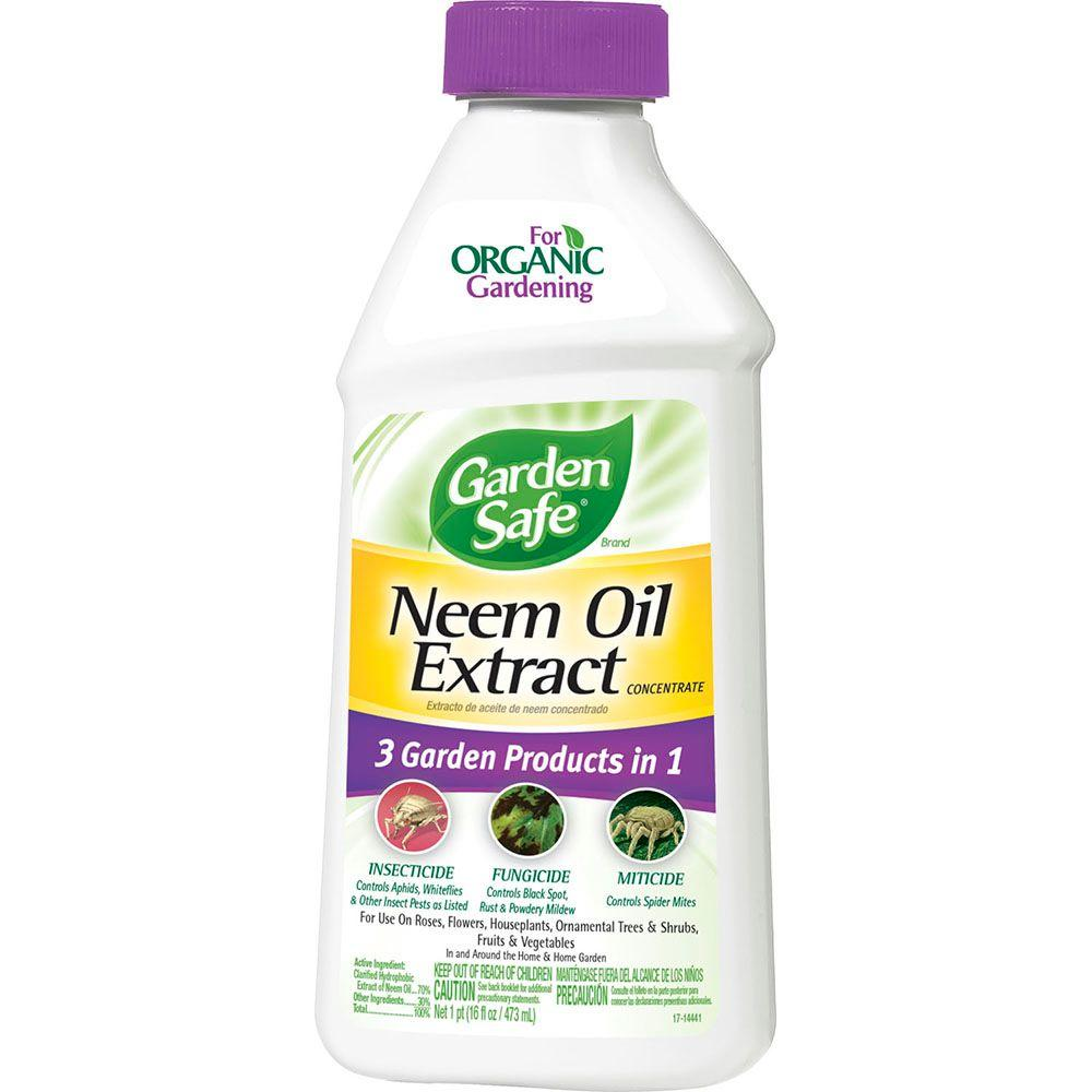Garden Safe 16 Oz Neem Oil Extract Concentrate Hg 83179 1 The Home Depot