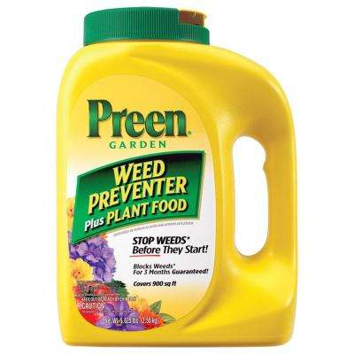 5.625 lbs. Garden Weed Preventer Plus Plant Food