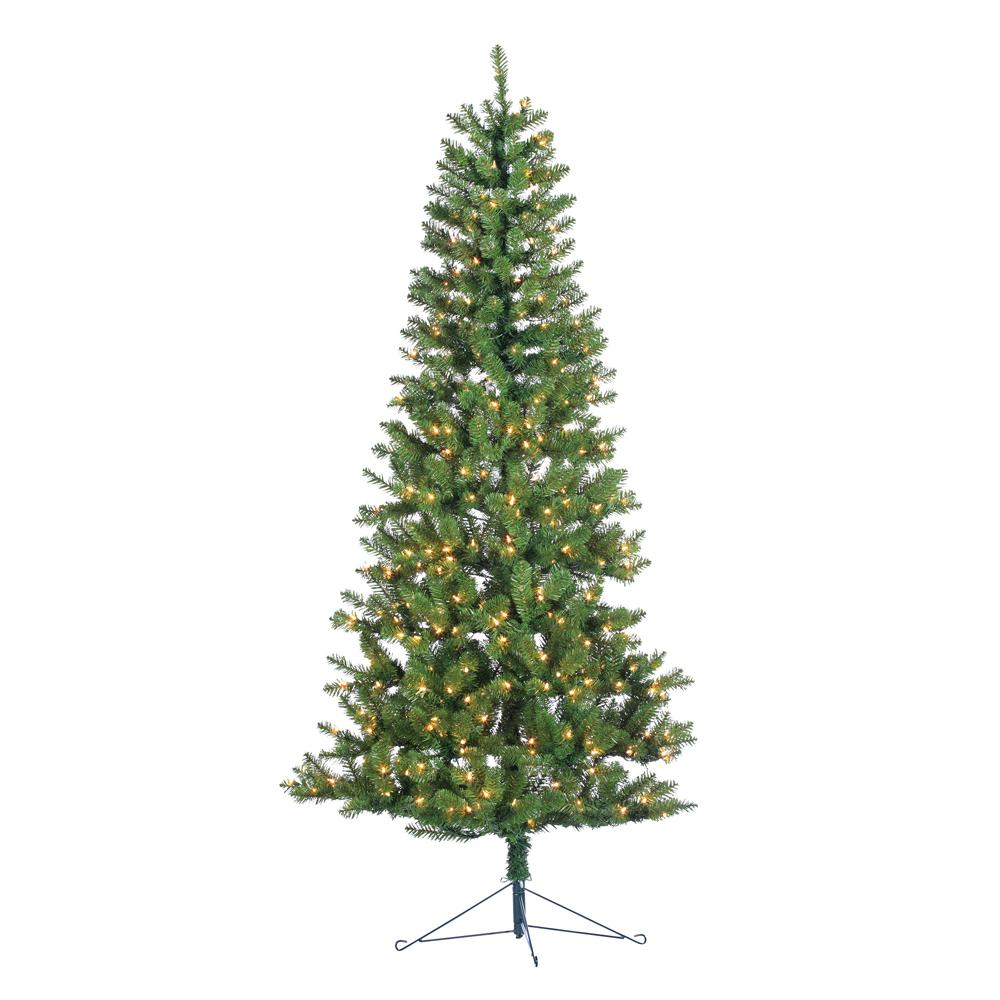 7 ft. Indoor Pre-Lit Glenwood Spruce Artificial Christmas...