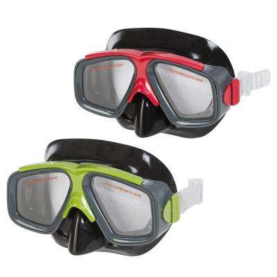 Surf Rider Lime and Red Masks (2-Pack)