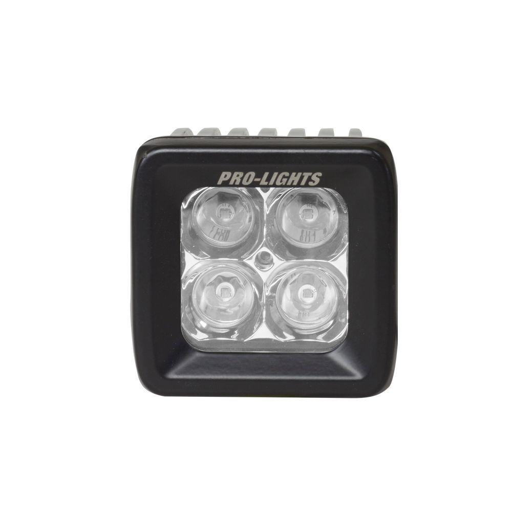 4 in. Cube Waterproof LED Spot Light with OSRAM Bright White
