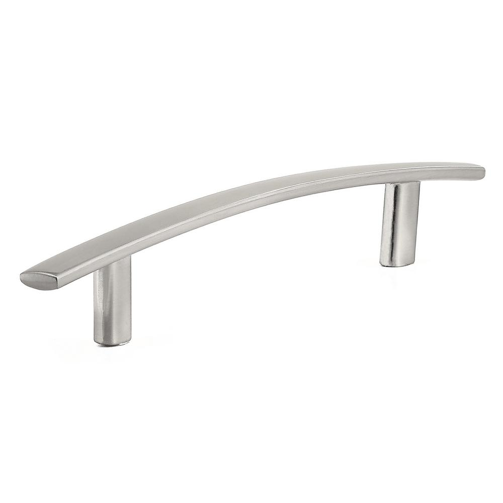 Richelieu Hardware 5-1/16 in. (128 mm) Center-to-Center Brushed Nickel Contemporary Drawer Pull