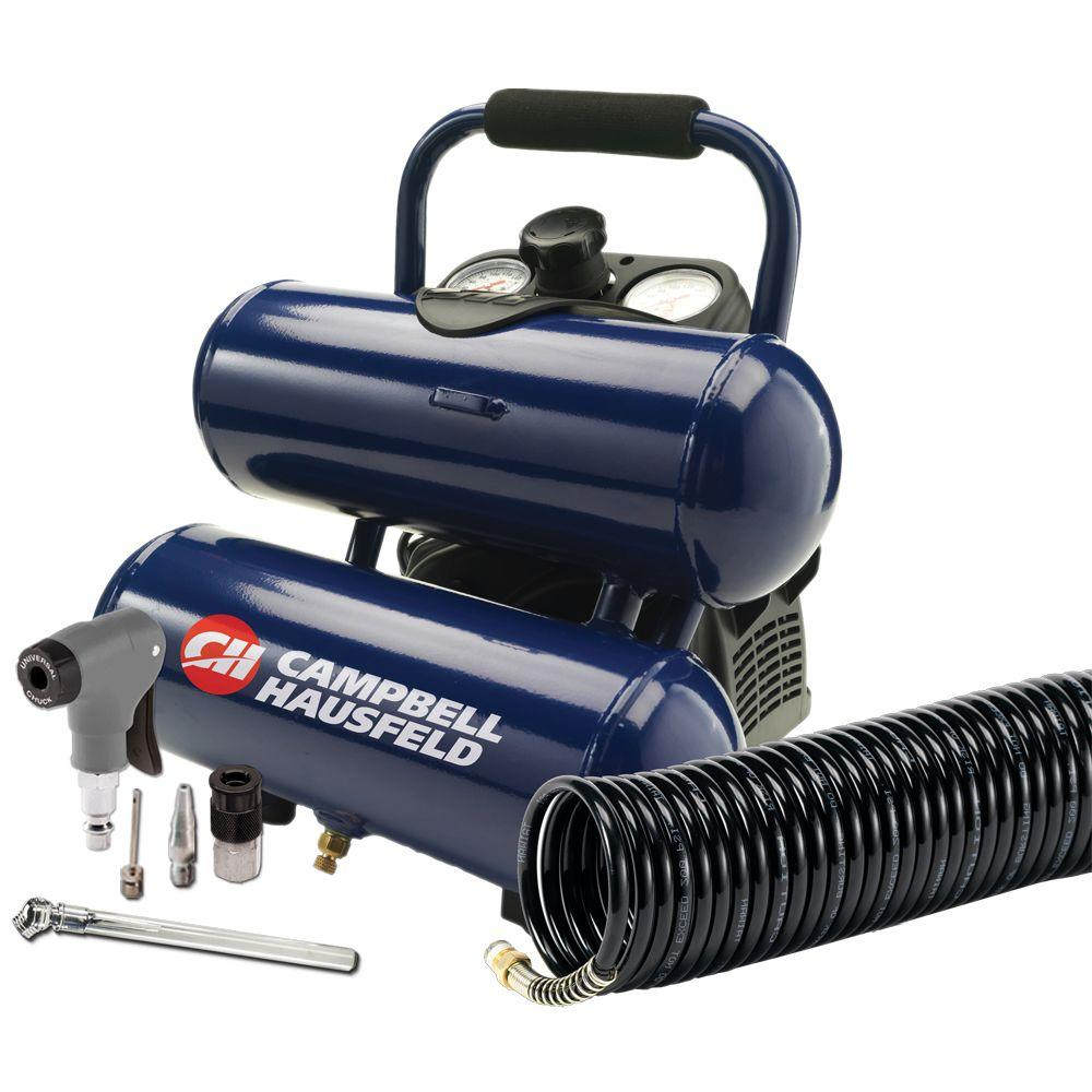 Campbell Hausfeld 2 Gal. Air Compressor with Inflation Kit