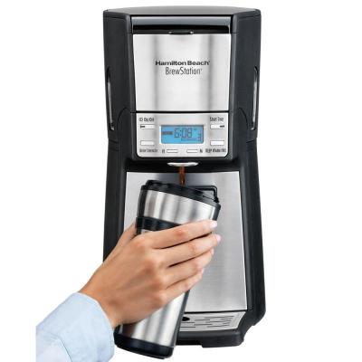 BrewStation Summit Ultra 12-Cup Stainless Steel Coffee Maker