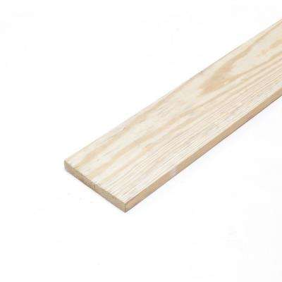 1 in. x 6 in. x 12 ft. Pressure-Treated Board