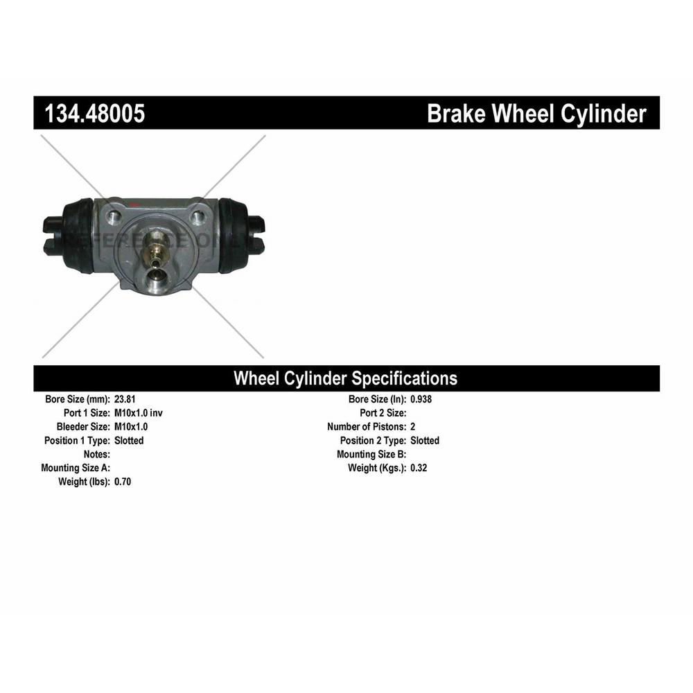 Drum Brake Wheel Cylinder-Premium Wheel Cylinder-Preferred Front Centric