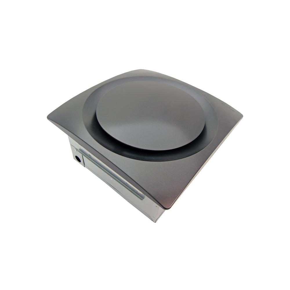 Slim Fit Adjustable Speed 80-140 CFM Ceiling/Wall Mount Bath Exhaust Fan w/Humidity Sensor Oil Rub Bronze ENERGY STAR