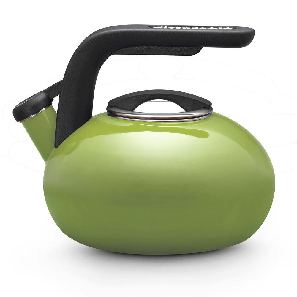 KitchenAid 8-Cup Tea Kettle in Green Apple-DISCONTINUED