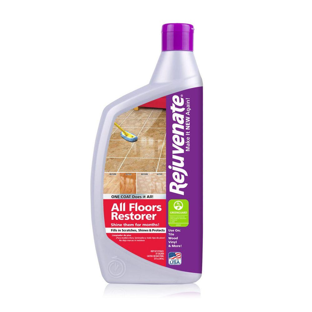 Rejuvenate 32 oz all floor restorer and protectant rj32f for All floors