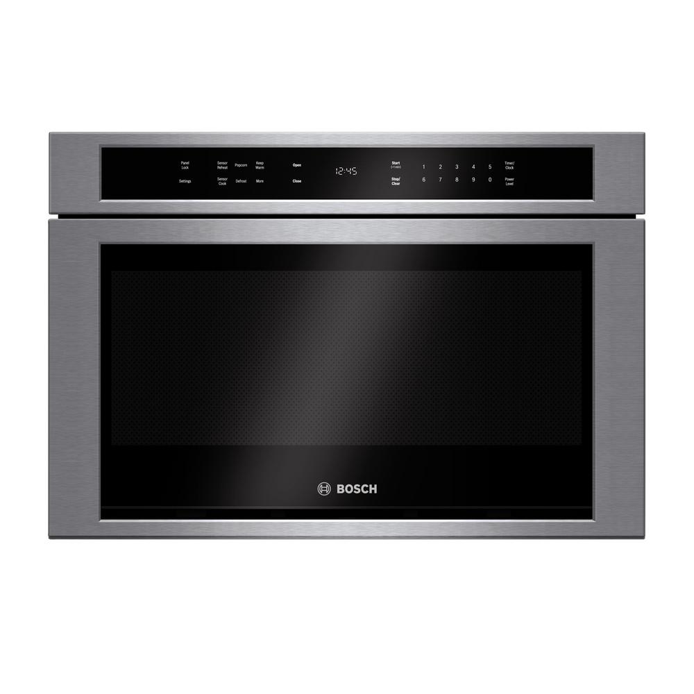 Bosch 800 Series 24 In 1 2 Cu Ft Built Drawer Microwave