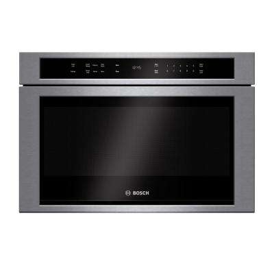 800 Series 24 in. 1.2 cu. ft. Built-In Drawer Microwave in Stainless Steel with Sensor Cooking