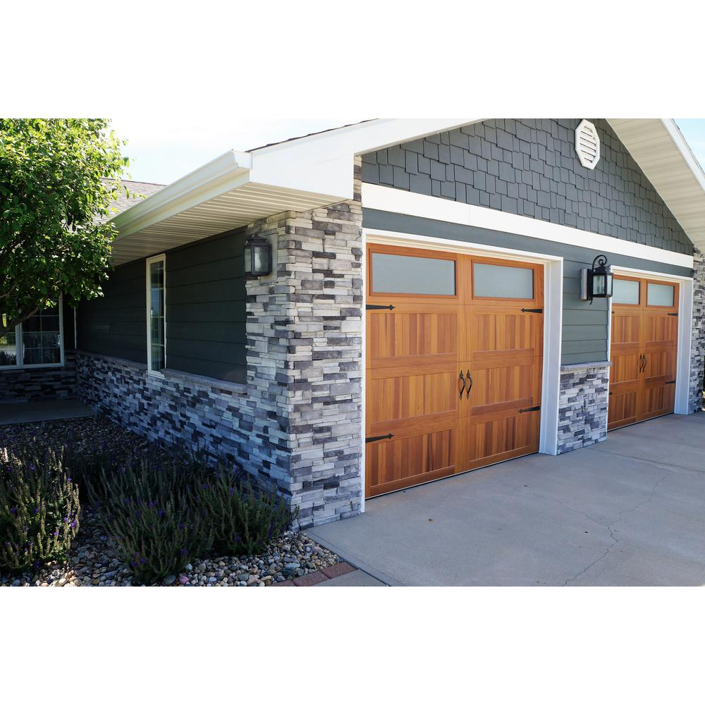 23.5 in. x 6 in. Colorado Gray Stone Veneer Siding (Flats)