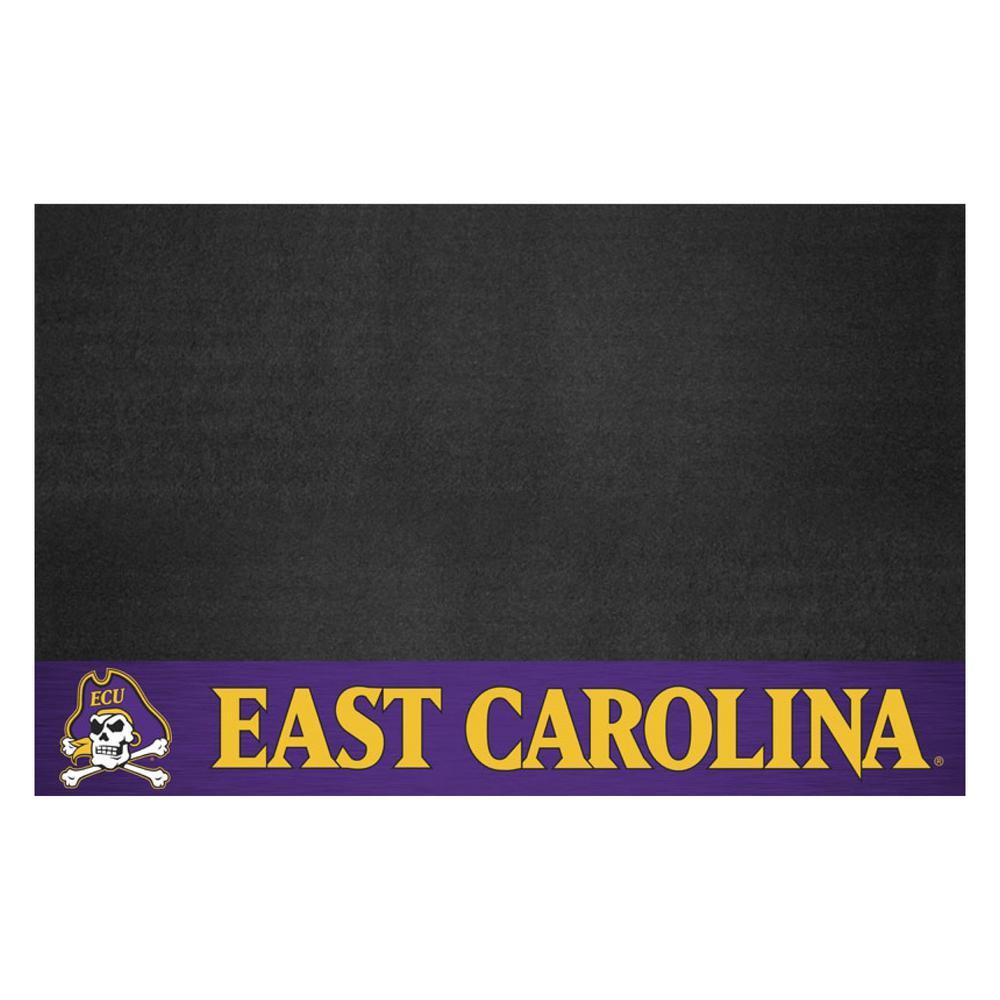 FANMATS NCAA 26 in. x 42 in. East Carolina University Grill Mat