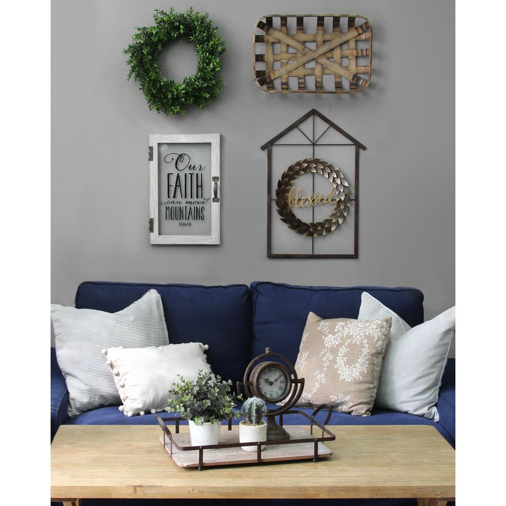 stratton home decor blessed wreath and house wall decor s12893 the