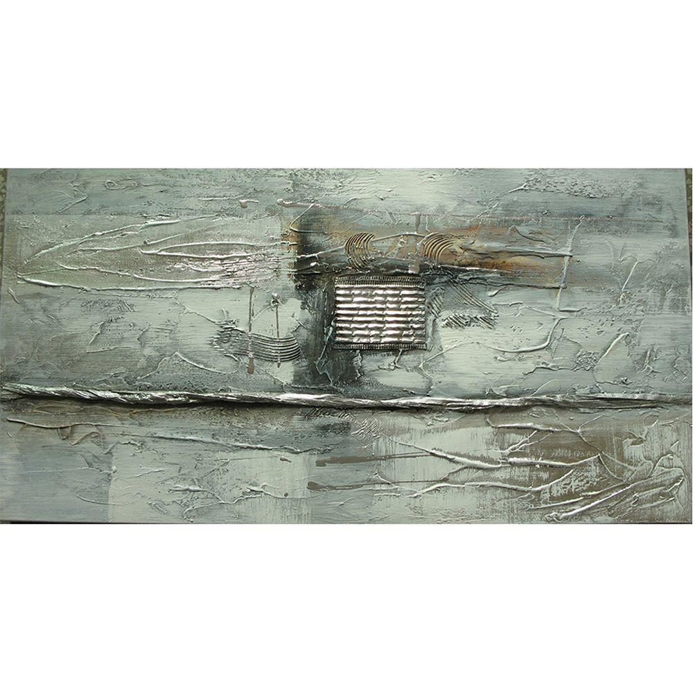 Yosemite Home Decor 24 in. x 12 in. Elevation II Hand Painted Contemporary Artwork-DISCONTINUED