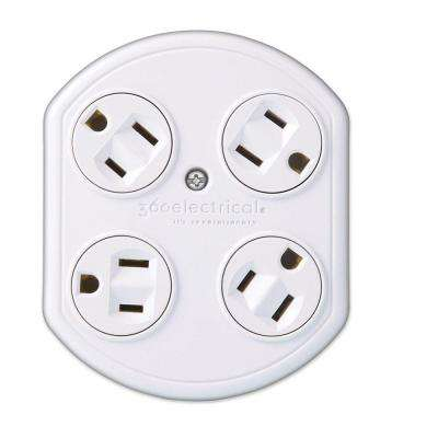 4 Outlet Rotating Adapter