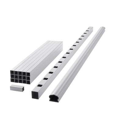 ArmorGuard Deluxe 70 in. White Composite Rail Kit