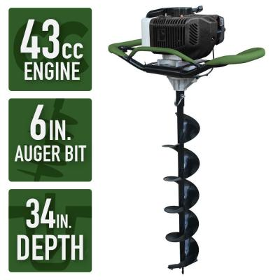 Sportsman Earth Series 43cc 6 in. Gas Powered Auger