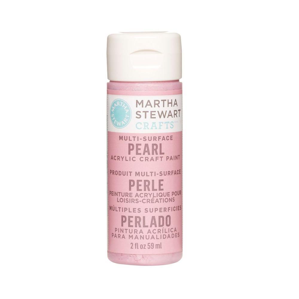 Martha Stewart Crafts 2-oz. Pink Taffeta Multi-Surface Pearl Acrylic Craft Paint