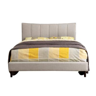 Ennis Queen Bed in Beige