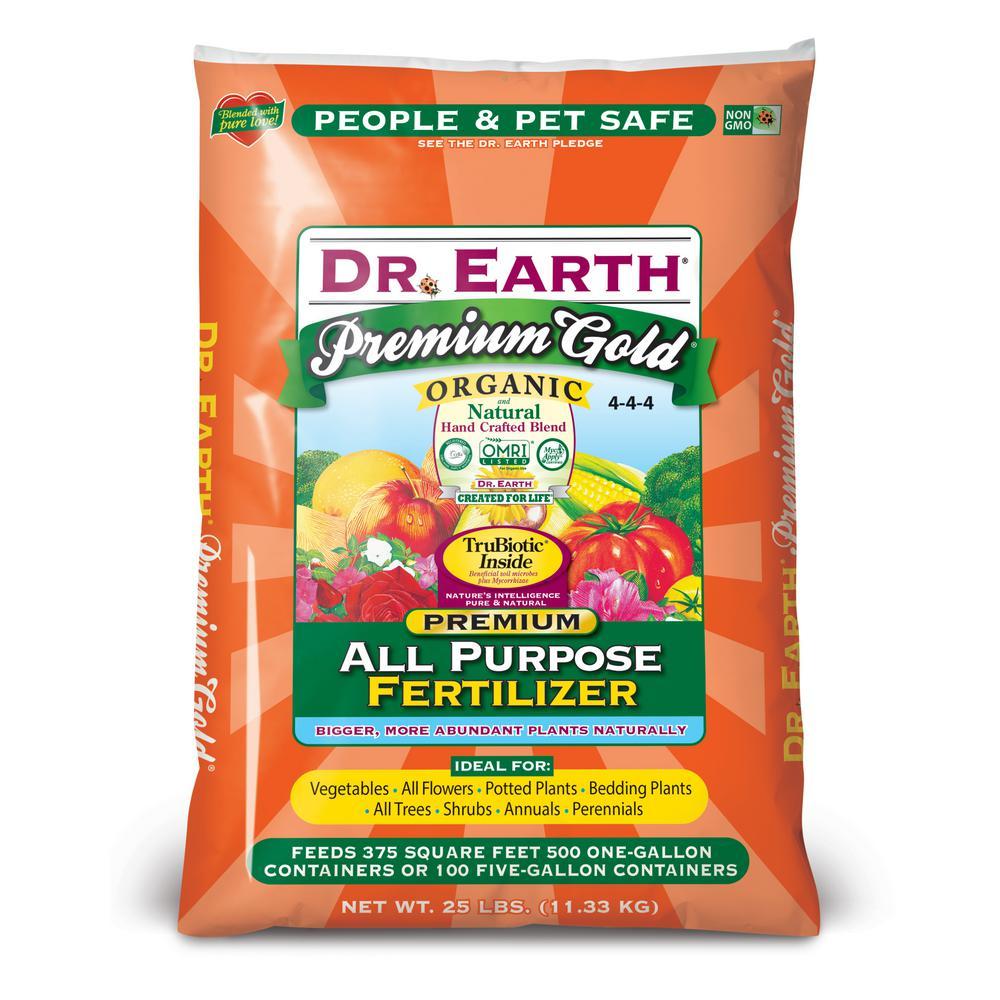 25 lb. Premium Gold All Purpose Fertilizer