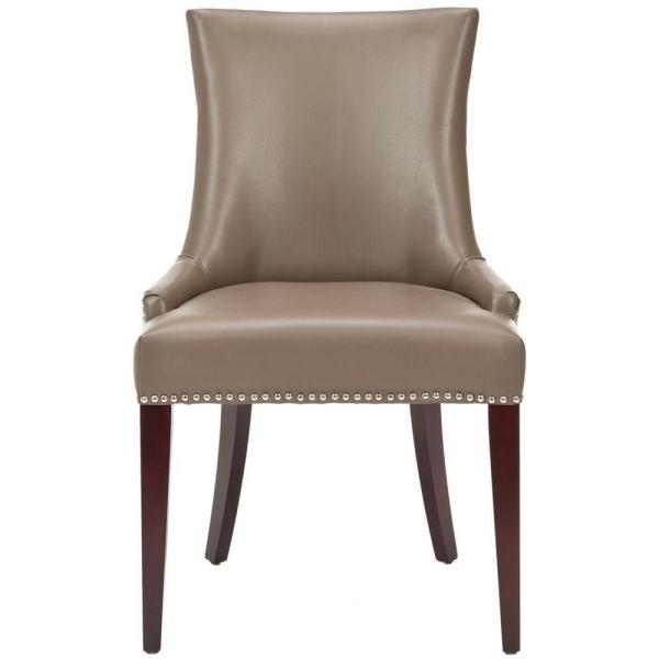 Safavieh Becca Clay Bicast Leather Dining Chair MCR4502G