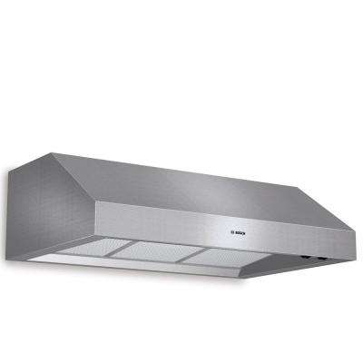 800 Series 36 in. Undercabinet Range Hood with Lights in Stainless Steel
