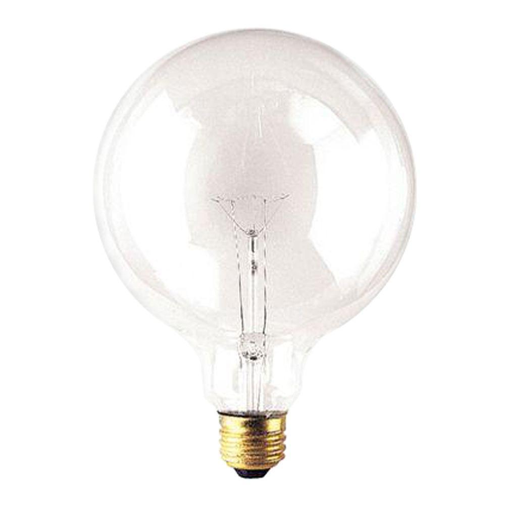 Bulbrite 60-Watt Incandescent G40 Light Bulb (10-Pack)