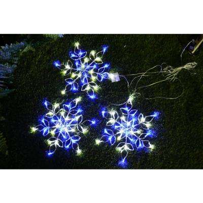 Outdoor Snowflake with LED Lights