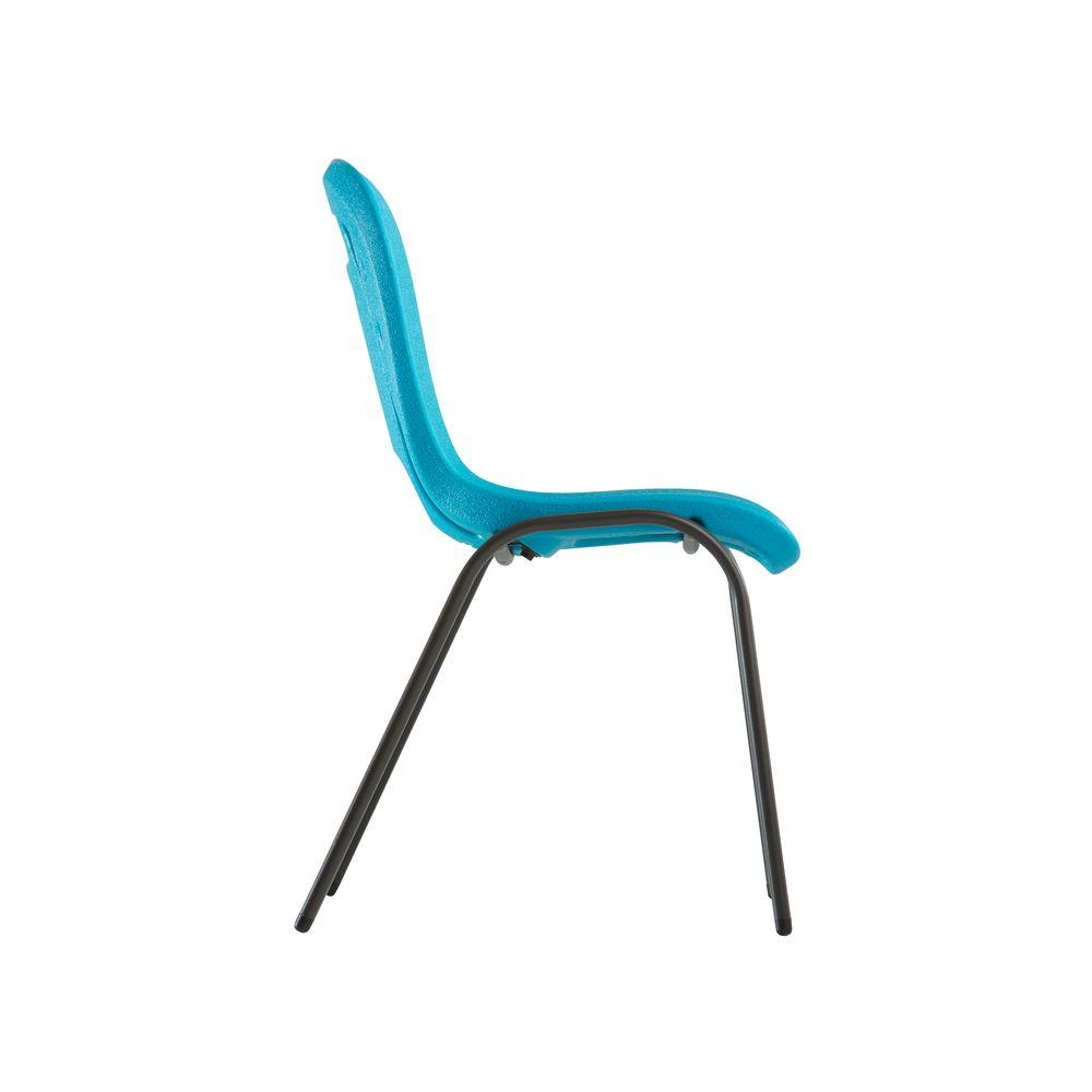 Marvelous Lifetime Blue Stacking Kids Chair Set Of 13 80475 The Camellatalisay Diy Chair Ideas Camellatalisaycom