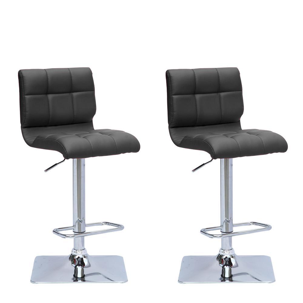 Groovy Trademark Tulane University 30 In Chrome Padded Swivel Bar Ncnpc Chair Design For Home Ncnpcorg