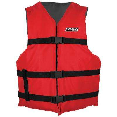 General Purpose Vest for Adult, Red