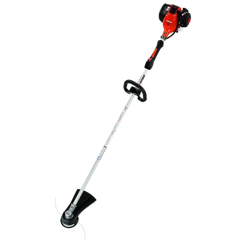 Echo 2 cycle 281 cc straight shaft gas trimmer srm 280t the echo 2 cycle 281 cc straight shaft gas trimmer srm 280t the home depot greentooth Choice Image
